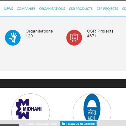 Biggest CSR portal
