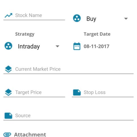 Stock market Analysis App